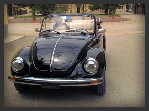Volkswagen maggiolone nero